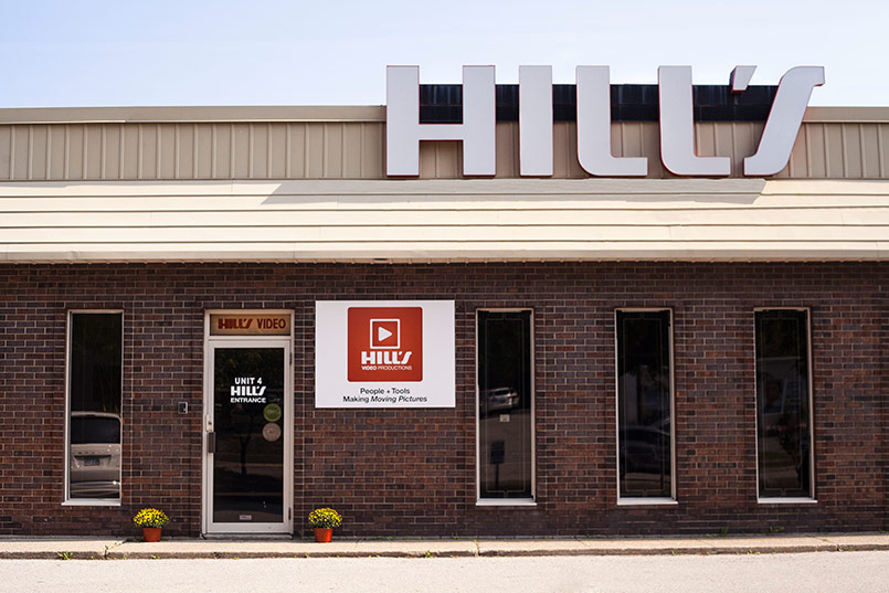 Hill's Video Productions studio Burlington, Ontario