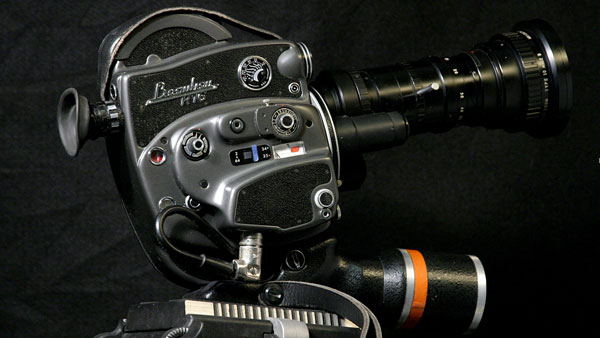 The Beaulieu R16 - motion picture camera first introduced in 1958.